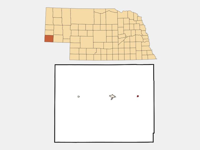 Dix locator map