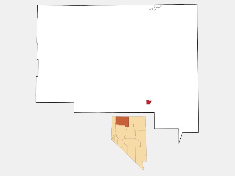 Winnemucca, NV locator map