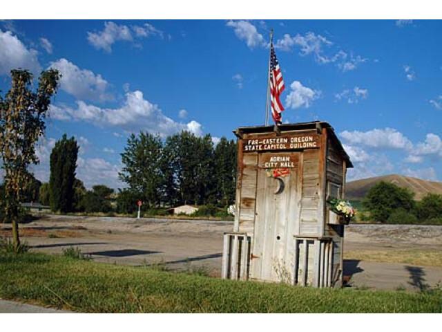 Adrian City Hall 'Malheur County  Oregon scenic images' 'malD0039' image