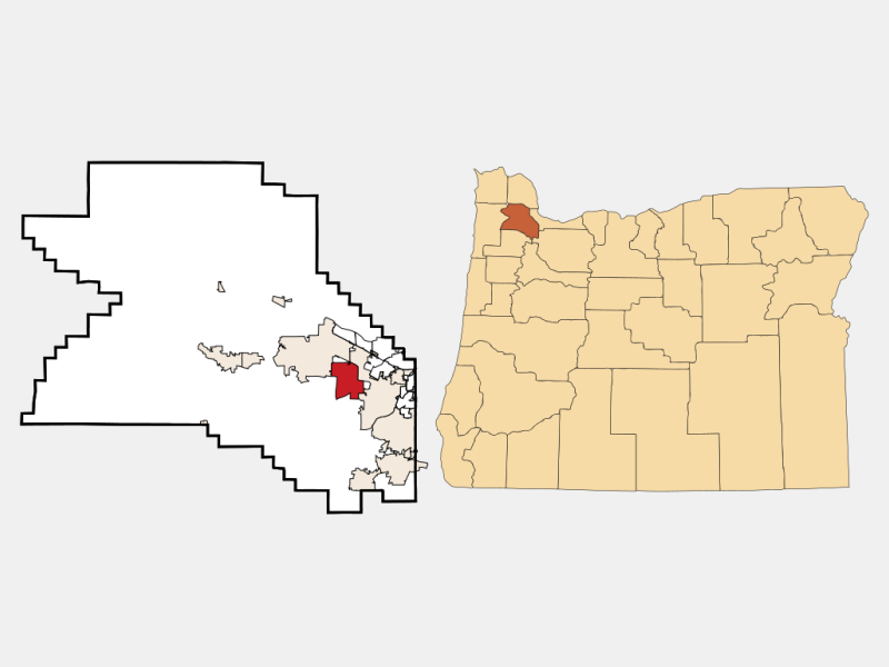 Aloha locator map