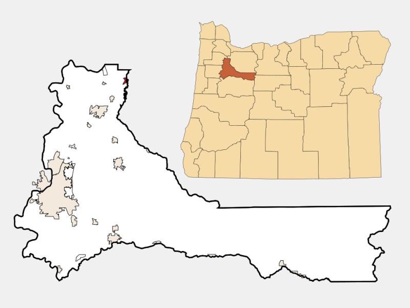 Aurora location map