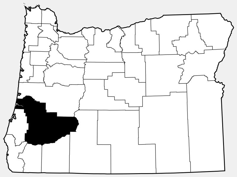 Douglas County locator map