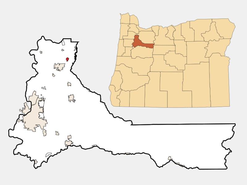 Hubbard locator map