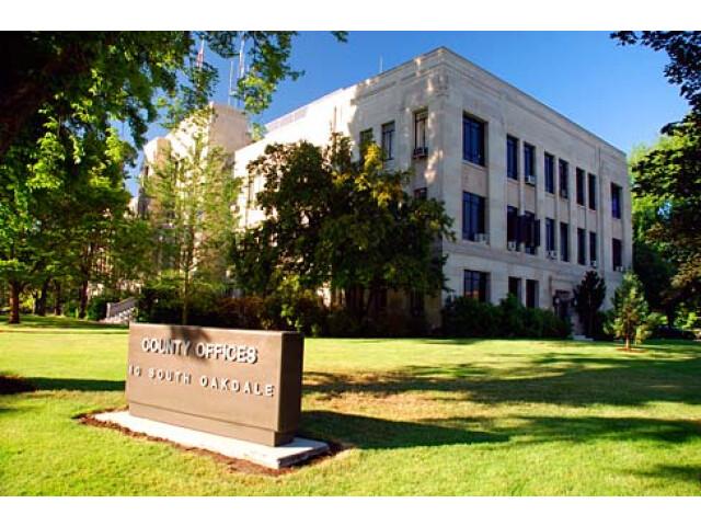 Jackson County Courthouse 'Jackson County  Oregon scenic images' 'jacDA0008' image