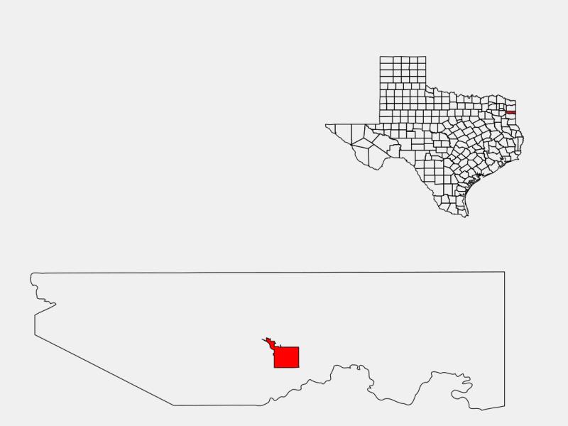 Jefferson locator map