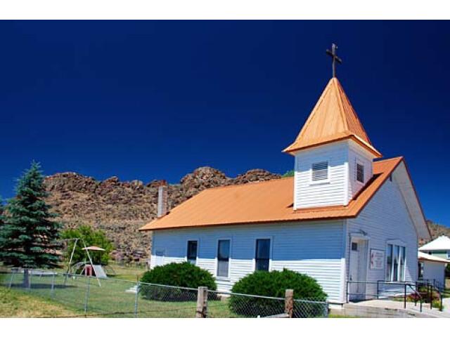 Jordan Valley Church 'Malheur County  Oregon scenic images' 'malDA0097' image