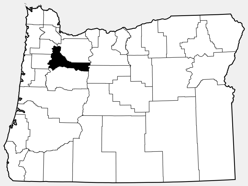Marion County locator map