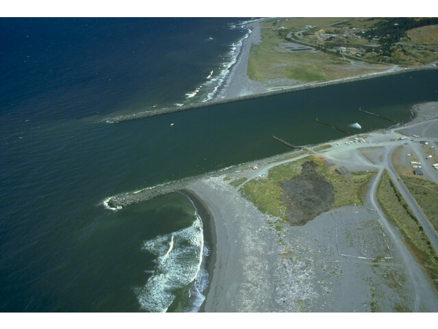 USACE Rogue River jetties image