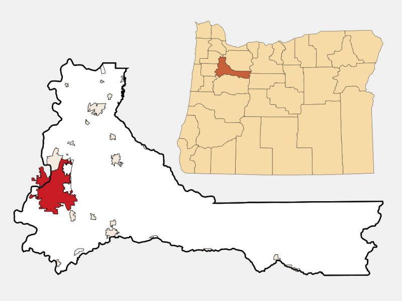 Salem locator map