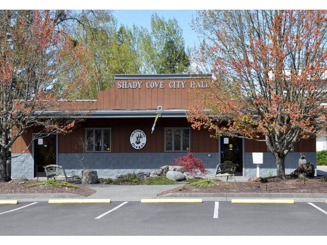 Shady cove city hall image