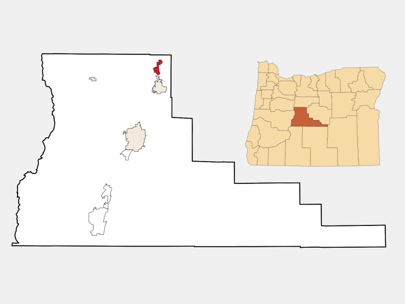 Terrebonne locator map