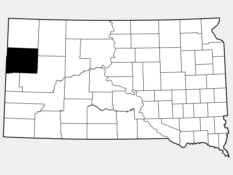Butte County locator map