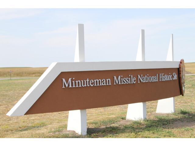 MinuteManMissileNatlHistoricSiteSign image