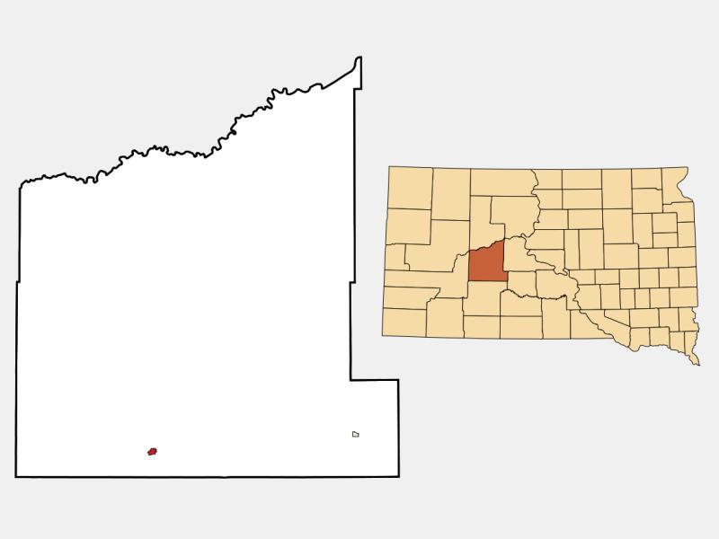 Philip location map