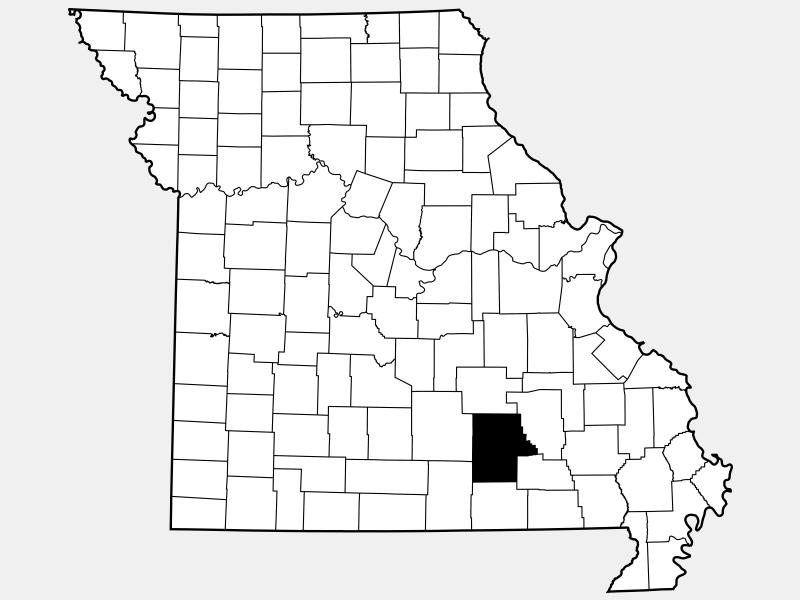 Oglala Lakota County locator map