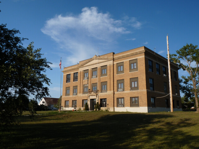 Ziebach County Courthouse image