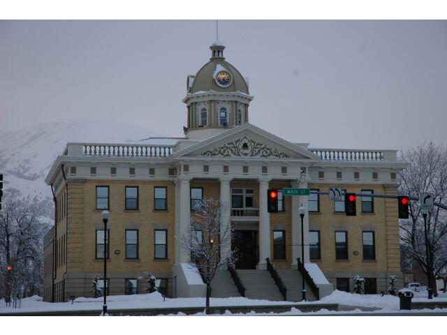 Box Elder County Courthouse. image