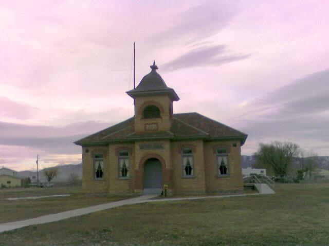 Old Fairfield 'Utah' Schoolhouse image