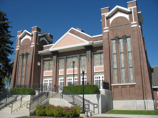 Garland Tabernacle of the LDS Church image