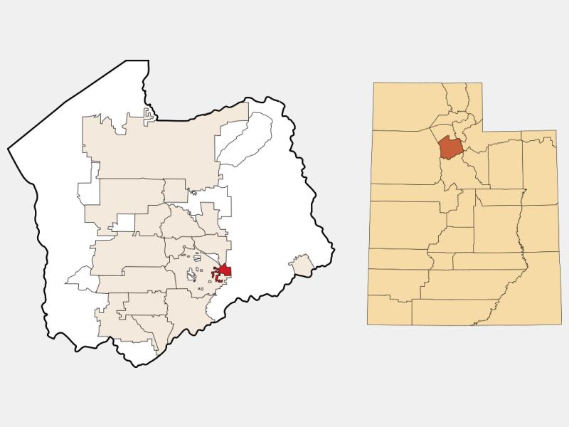 Granite location map