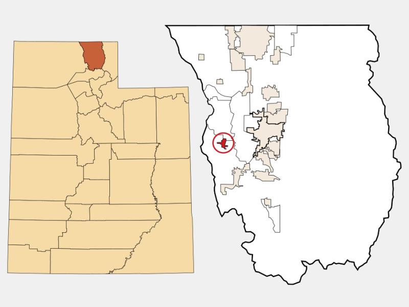 Mendon locator map