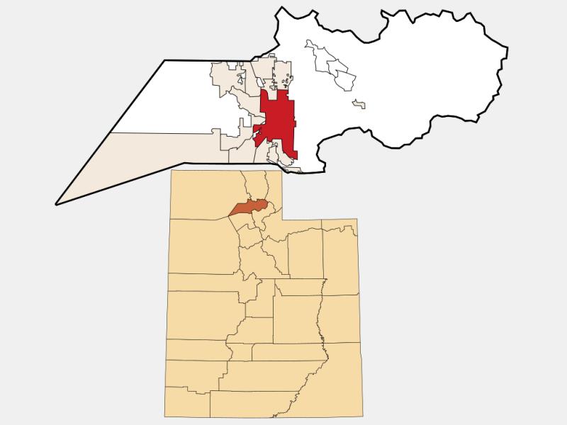 Ogden locator map