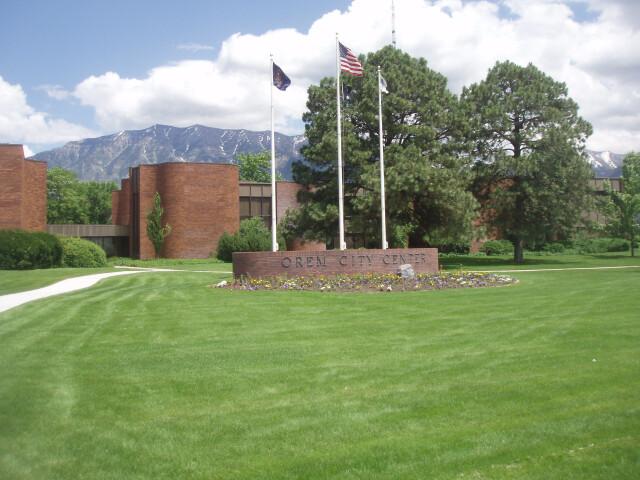 Orem Utah City Center. image