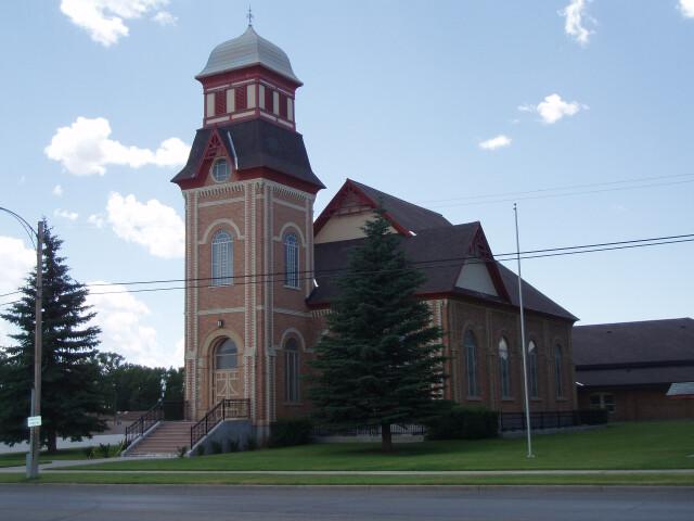 Randolph Utah Tabernacle. image