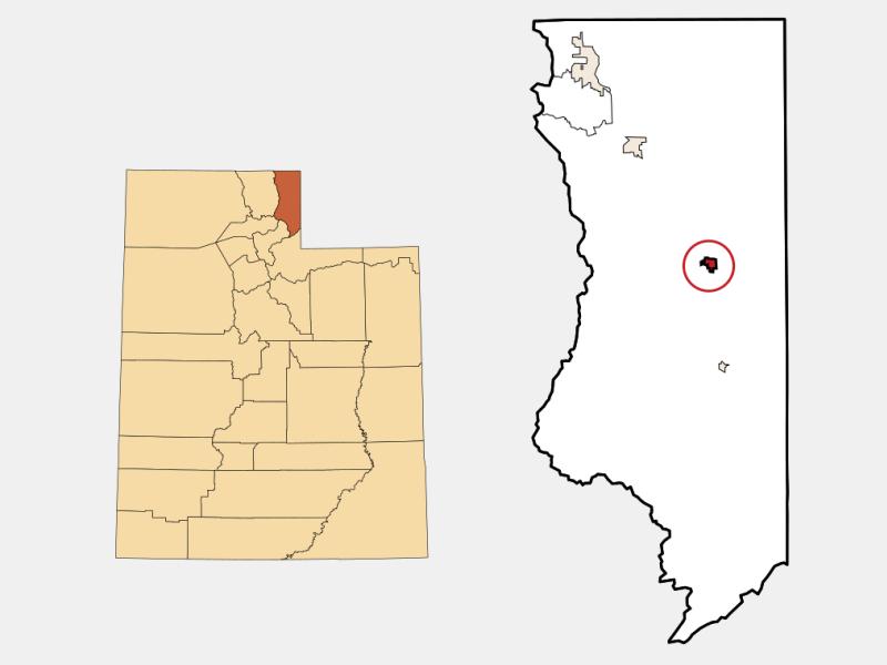 Randolph locator map