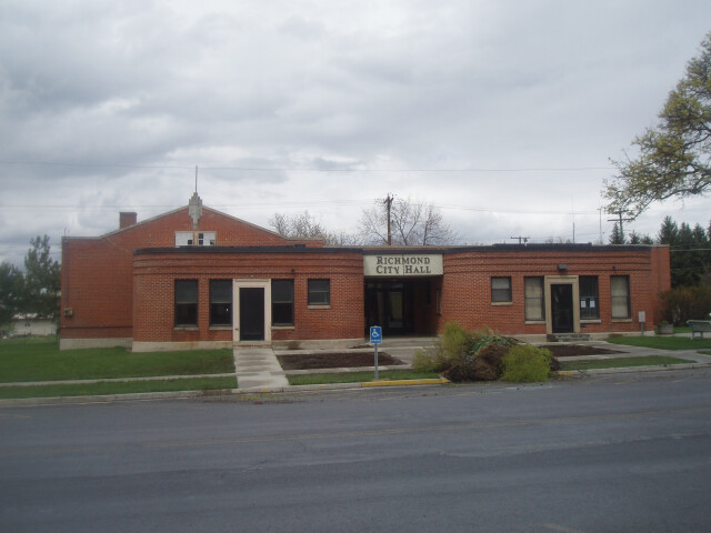 Richmond Utah Community Building. image