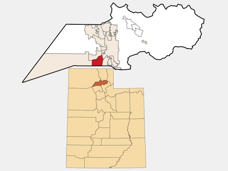 Roy locator map