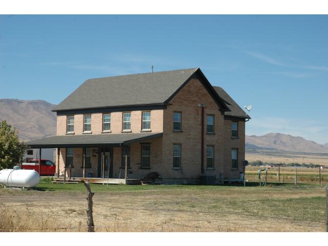 Davis House Rush Valley Utah. image