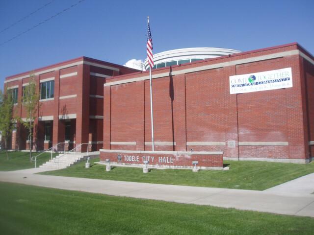 Tooele Utah City Hall. image