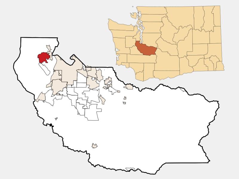 Artondale location map