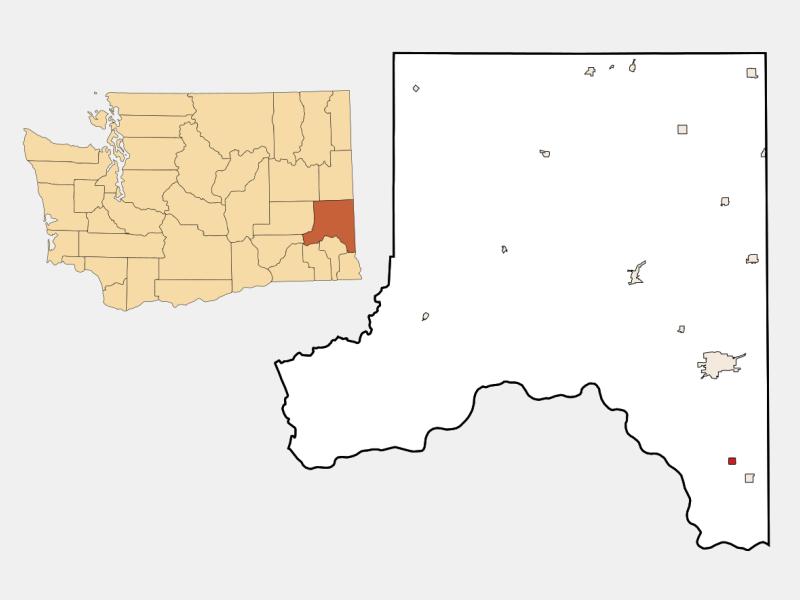 Colton locator map