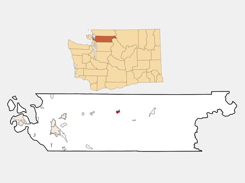 Concrete locator map