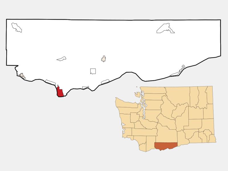 Dallesport location map