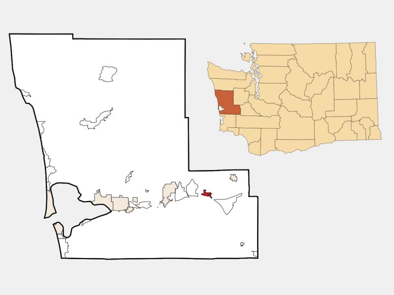 Elma locator map