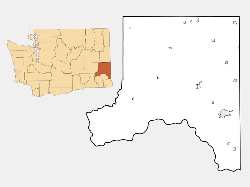 Endicott locator map