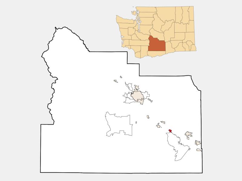 Granger locator map