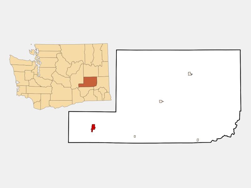 Hatton locator map