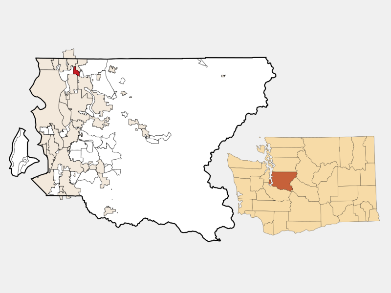 Kingsgate location map