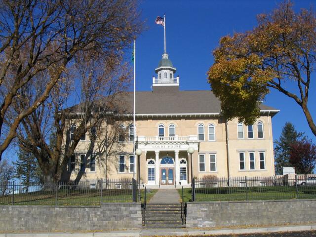 Lincoln County Courthouse Davenport  Washington image