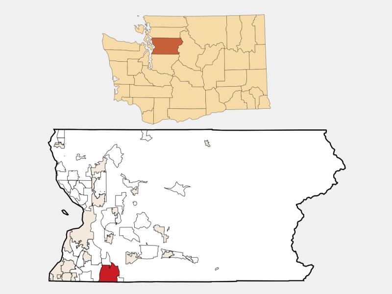 Maltby locator map
