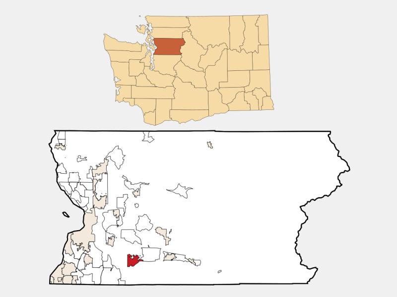 Monroe locator map