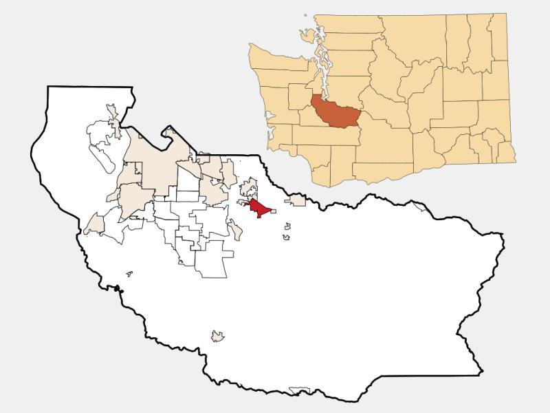 Prairie Ridge locator map