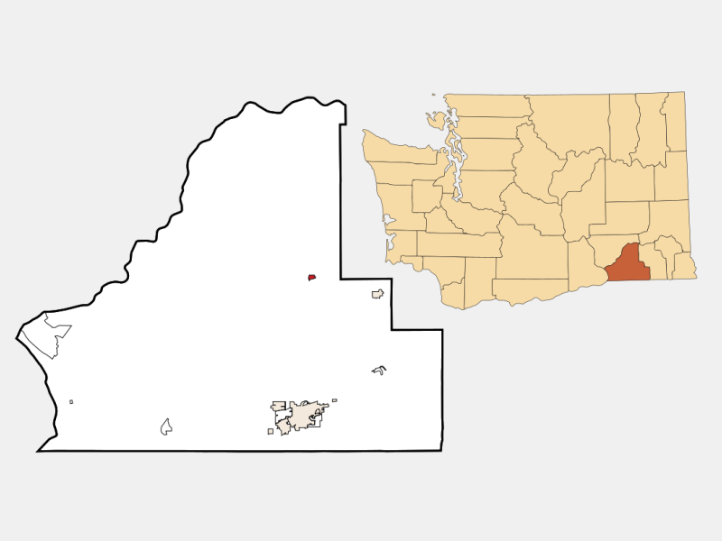 Prescott locator map