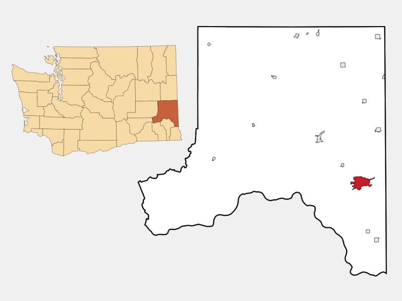 Pullman locator map