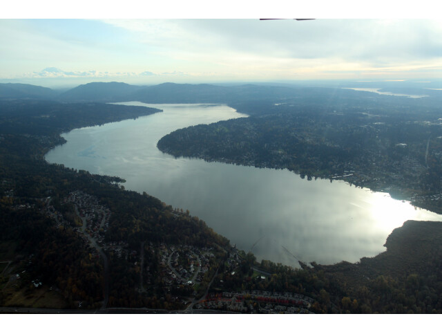 Aerial Lake Sammamish November 2011 image