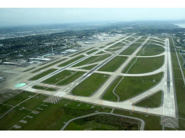 Aerial KSEA May 2012 image